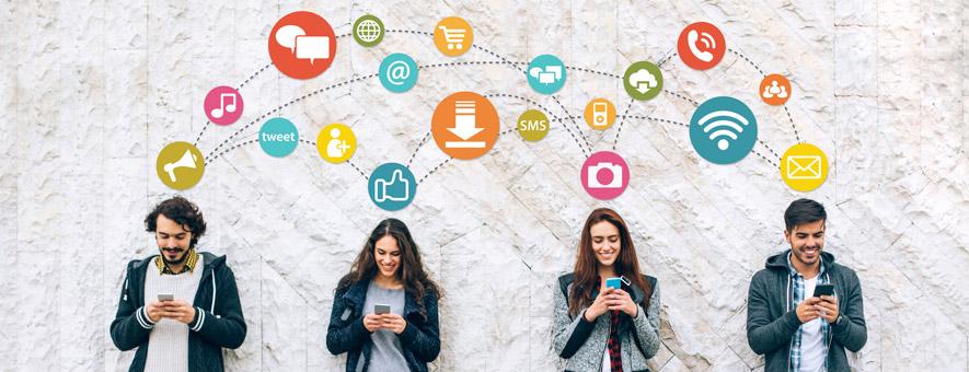 how social media marketing works