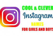 Best Instagram Names to Get Followers