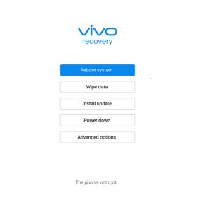 How to wipe data in vivo z1 pro