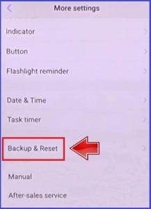 Vivo-z1-pro-Factory-reset-more-settings