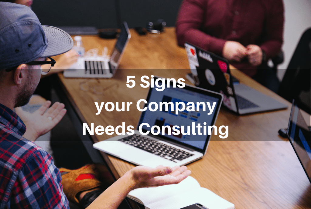 What are the Signs That You Need the Help of an IT Consultant Firm?