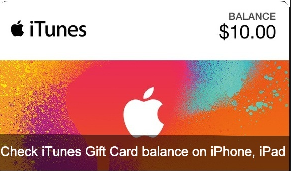 Itunes Gift Card Balance : Check Itunes Gift Card Balance