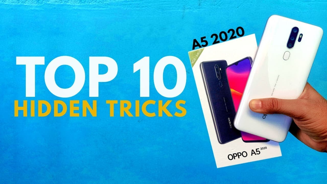 Oppo A5 2020 Hidden Features -Tips and Tricks -Secret Tricks