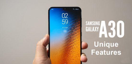 Samsung Galaxy A30s hidden features