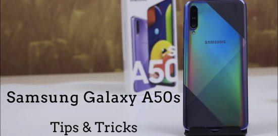 Samsung Galaxy A50s Hidden Features