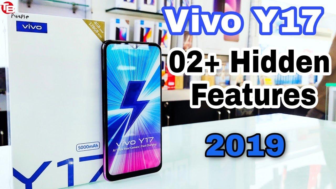 Vivo Y17 Hidden Features