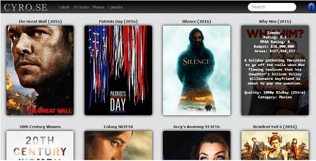 CYRO: Top Sites like CYRO SE Movies [2019]