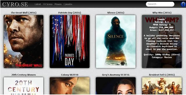 CYRO: Top Sites like CYRO SE Movies [2019]