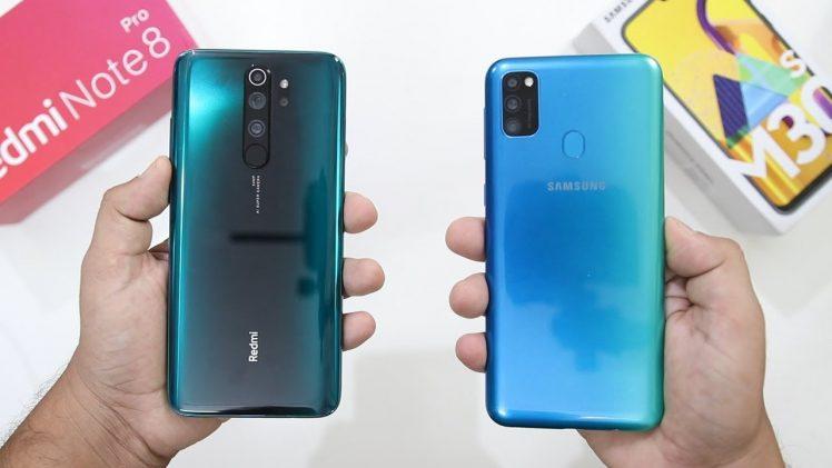 Xiaomi Redmi Note 8 Pro VS Samsung Galaxy M30s Gaming Comparision