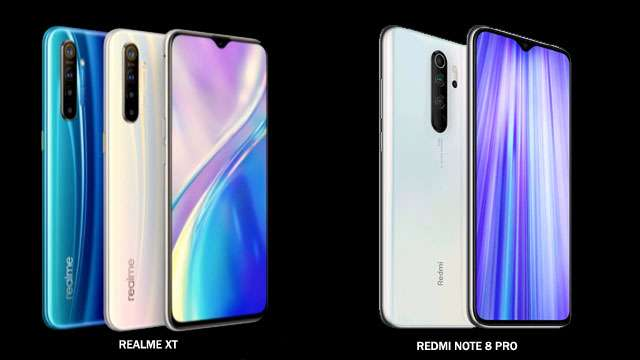 Xiaomi Redmi Note 8 Pro vs Realme XT Comparision