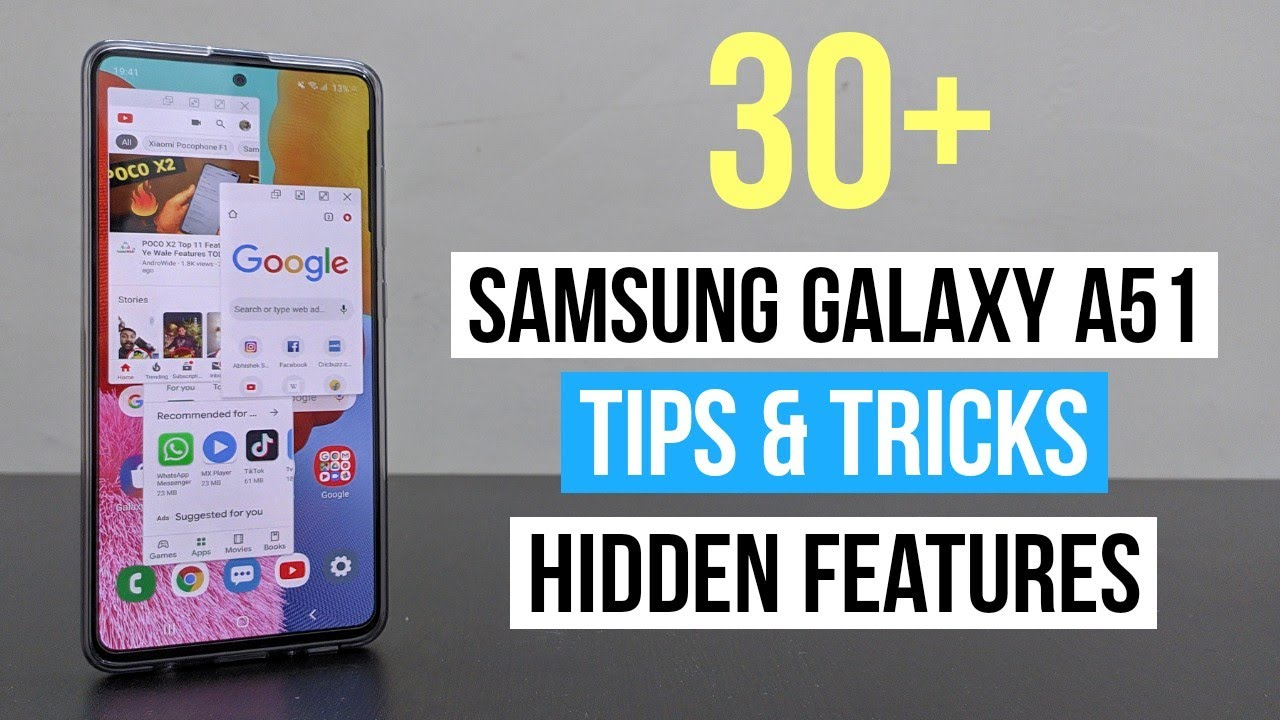 Samsung Galaxy A51 Hidden Features Tips And Tricks Secret Features