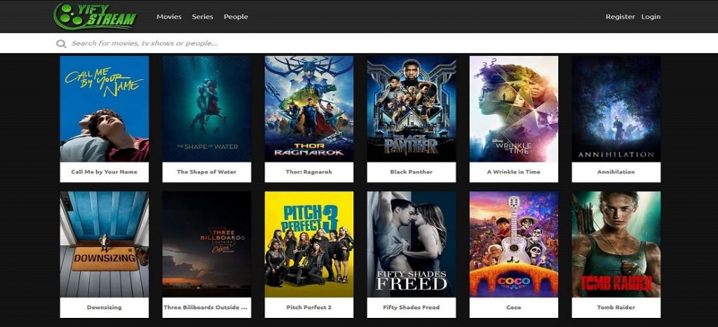 Sites like YIFY YTS Torrent | YTS Movies Mirror Sites and Alternatives