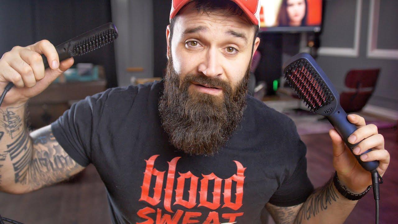 beard straightening