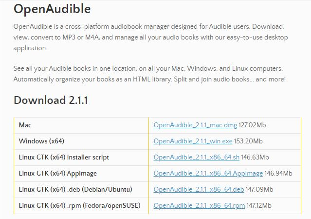 aax file to mp3 open Audible 1