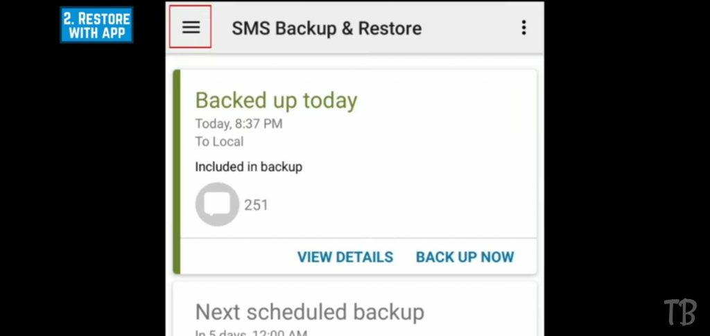 how to recover deleted text messages 14