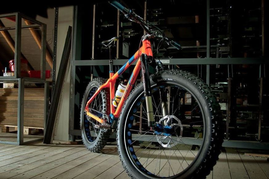 Explore new places with comfortable MTB Titanium Bike