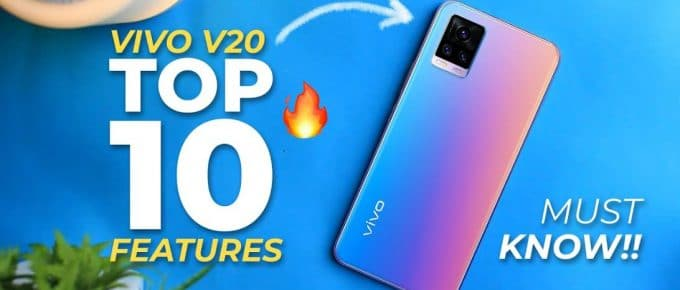 Vivo V20 Pro Hidden Features ,Vivo V20 Pro Tips & Tricks