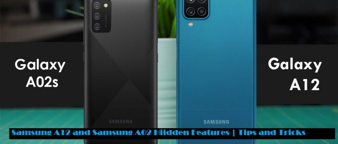 Samsung Galaxy A12 Hidden Features , Samsung Galaxy A12 Tips and Tricks