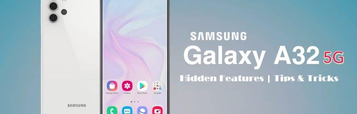 Samsung Galaxy A32 Hidden Features | Tips and Tricks : 15 Secret Tricks