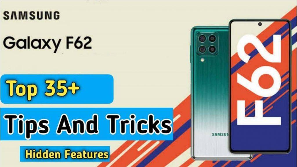Samsung f62 hidden features-tips-tricks