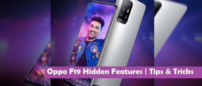 Oppo F19 Hidden Features   Tips and Tricks