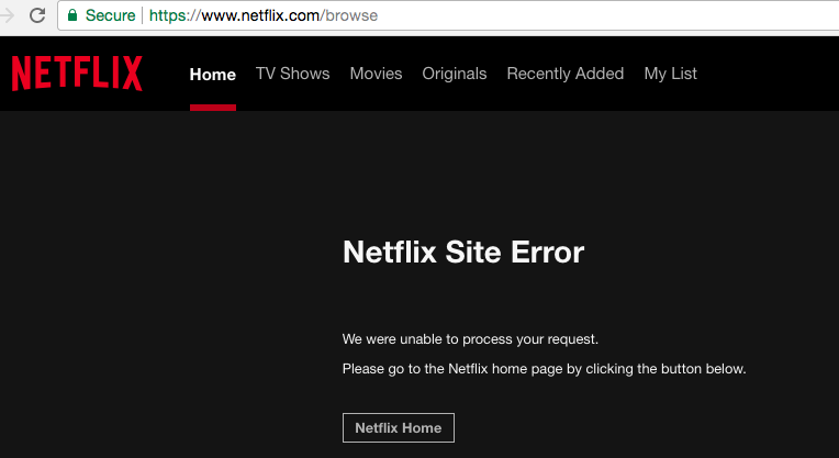 Checkout the Netflix Server