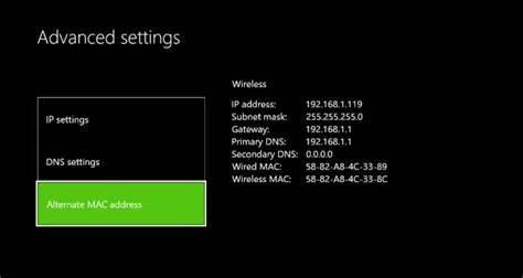 Clear Alternative Mac-Address