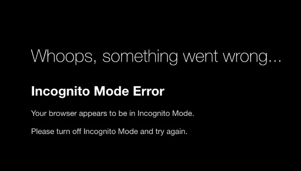 [100% SOLVED] How To Fix Netflix Incognito Mode Error M7399-1260-00000024