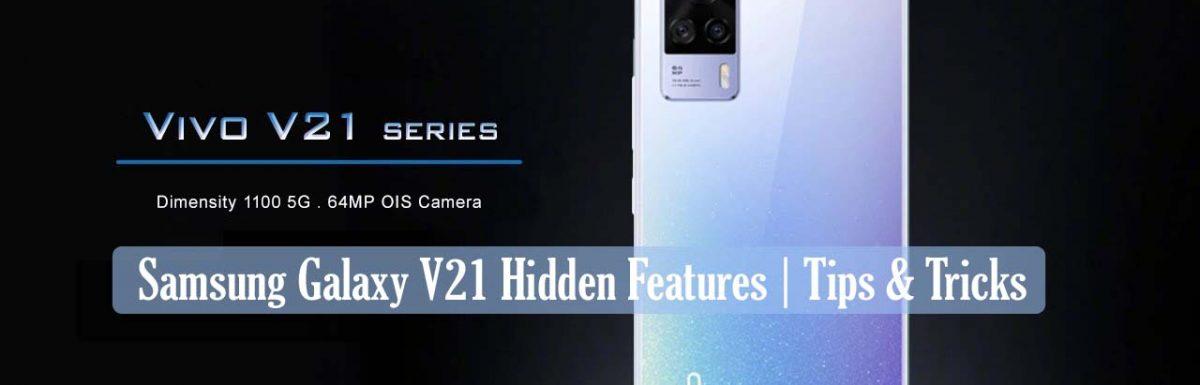 [Secret Tips] Vivo V21 Hidden Features | Tips & Tricks : New Updated