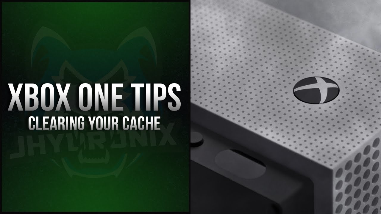 How can I clean my cache Xbox one?