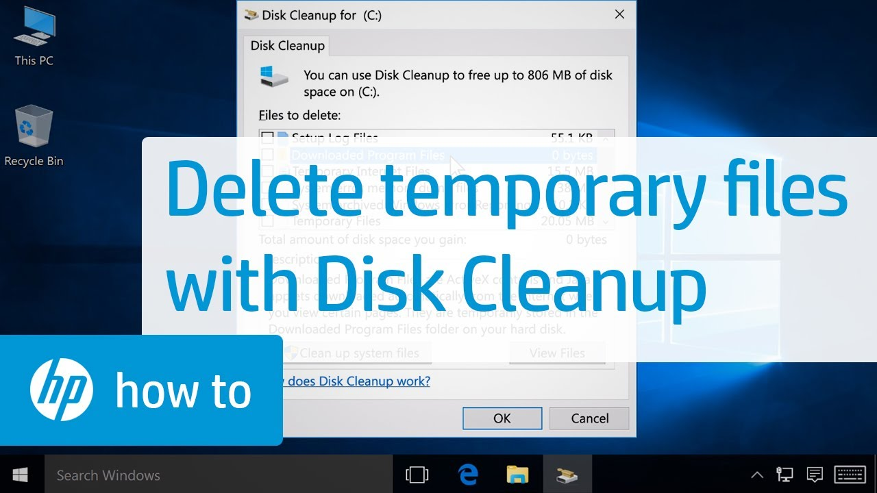 Play disc Cleanup to conserve space for storing