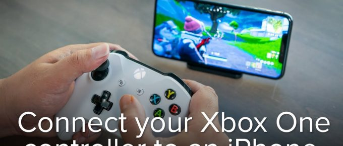 To Connect your Controller to an iPhone or iPad...