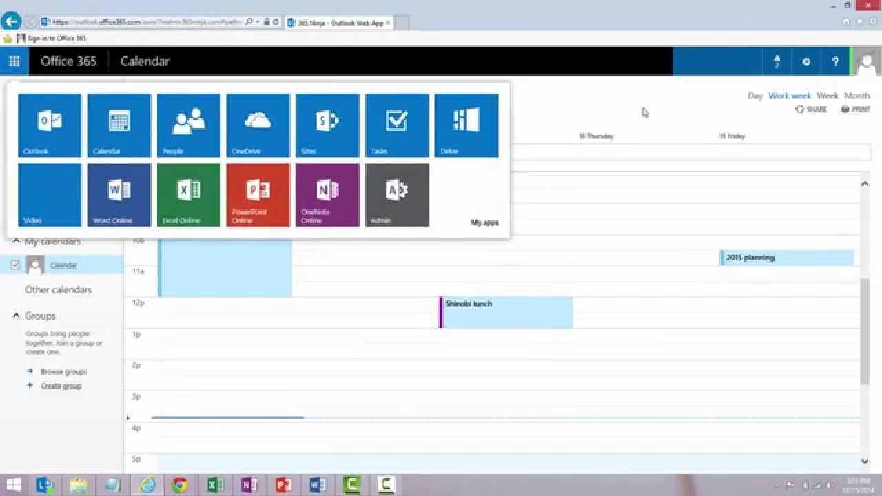 Outlook Online Application