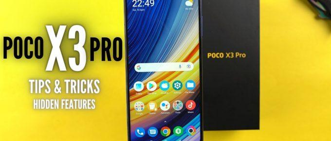Poco X3 Pro Hidden Features | Tips & Tricks: