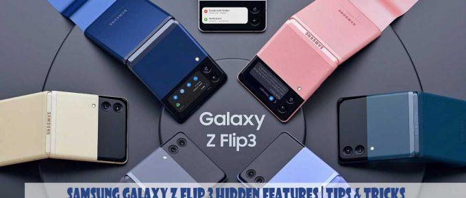 [Cool Tricks] Samsung Galaxy Z Flip 3 Hidden Features | Tips & Tricks