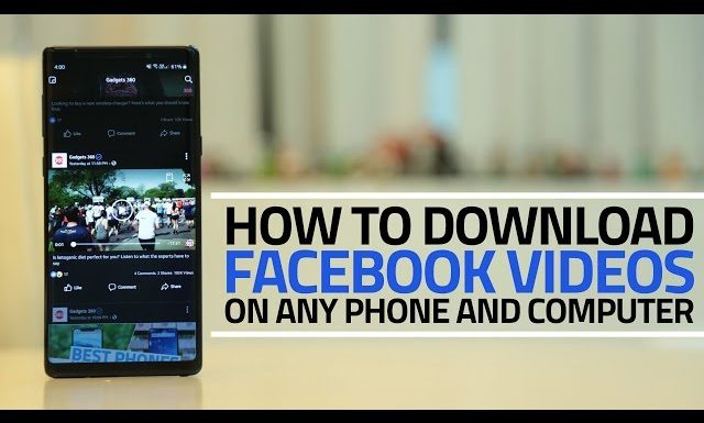 [SECRET TRICKS] How to Download Video from Facebook : Follow Steps